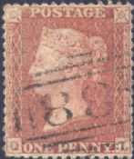 1856 1d Red SG29 Plate 29 'QL'